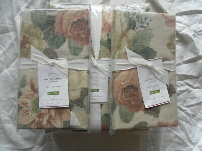 New Auth Pottery Barn Laurel Rita Floral Duvet Cover Full