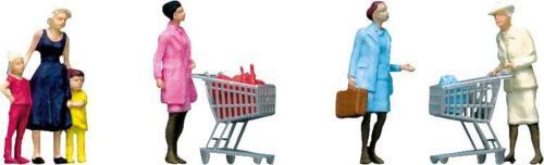 Faller H0  151035  Figuren Im Supermarkt//Einkaufswagen #NEU in OVP##