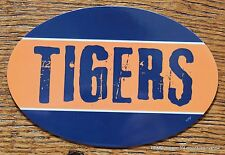 Detroit Tigers Oval Car Magnet Made In The USA Baseball Sports Waterproof MLB