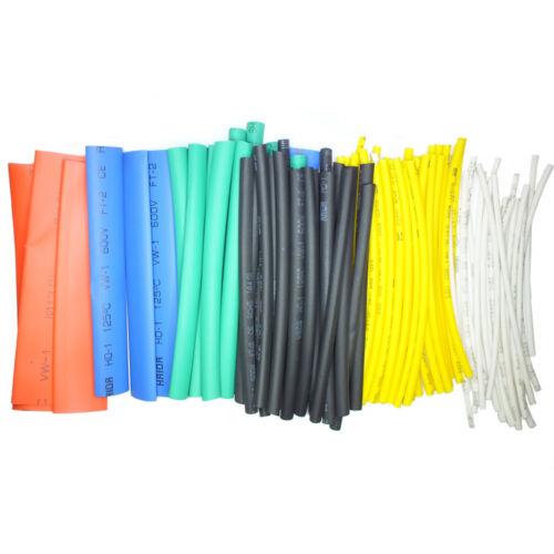 Schrumpfschlauch Set Sortiment 100 tlg 10cm Länge Universal Set Nachfüllpack
