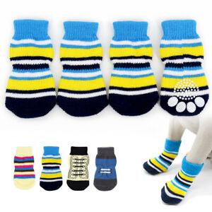Pets-Dog-Socks-4Pcs-Cute-Puppy-Dogs-Pet-Knits-Socks-Anti-Slip-Skid-Bottom-Shoes