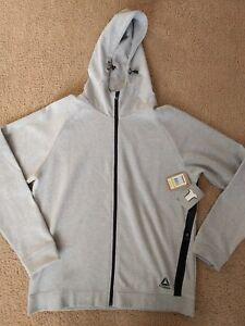 With Reebok Hoodie Large Training Long Sleeve New Tags Grey Sweatshirt Men's 882956695734 nzSrwXz6