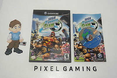 Sega Soccer Slam - GAMECUBE - Complete - FREE SHIPPING