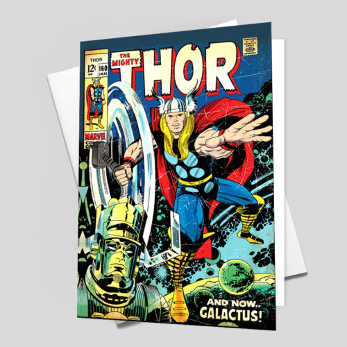 THOR Comic Cover 160th Edition Cover Reproduction Vintage Wall Art Print #29
