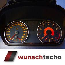 "Tachoscheibe 135i BMW 1er E81 E82 E87 E88 ""Black"" 280 Kmh erweitert auf 300 Kmh"