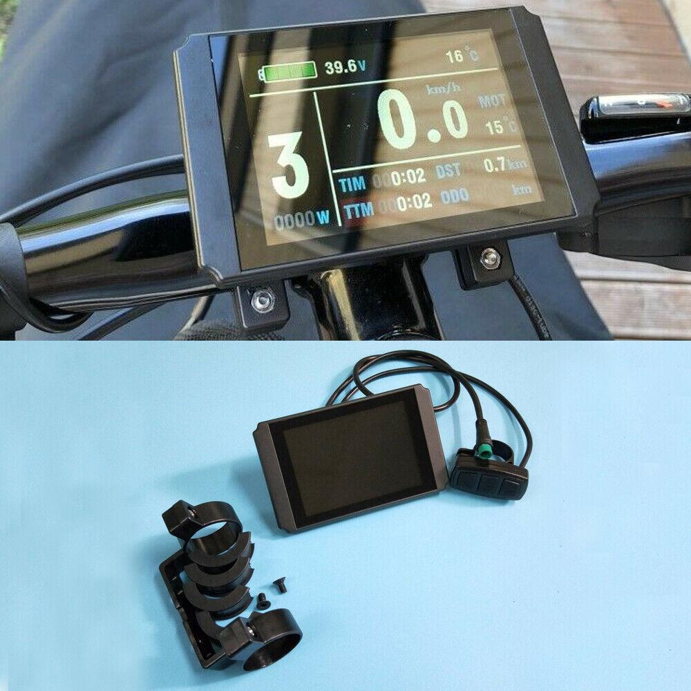Impermeable LCD8H KT Color metros conector de visor para la exhibición de bicicletas eléctricas KT