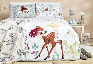 Disney Bambi Duvet Reversible Bed Set Primark Single