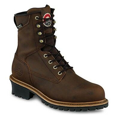 Red Wing Irish Setter Mesabi Steel Toe Waterproof Work Boot 83834