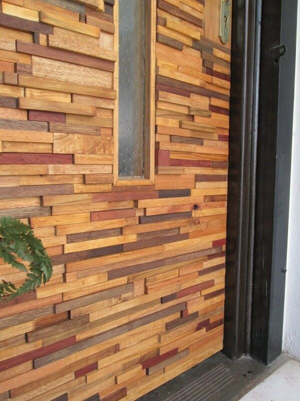 Wood Wall Cladding: 3D Wood Cladding Wall