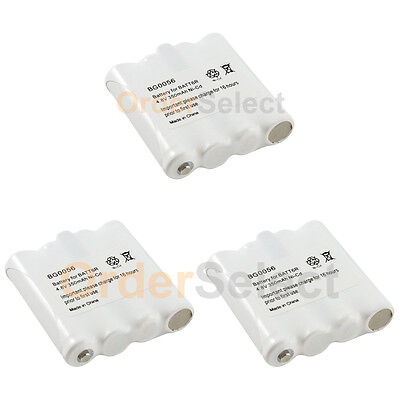 4 NEW OEM BG0056 BG056 Two-Way 2-Way Radio Rechargeable Replacement Battery Pack