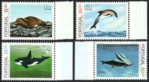 Portugal 1575-1578, MNH. Endangered Sea Mammals: Wolf,Dolphin,Killer Whale,1983