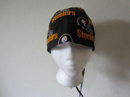 Pittsburgh Steelers Welding Welders Hat Surgeon DooRag Skullcap Do Rag Bandana