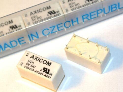 QTY=1pcs V23105-A5301-A201 Electromechanical Relay 5V AXICOM V23105A5301A201