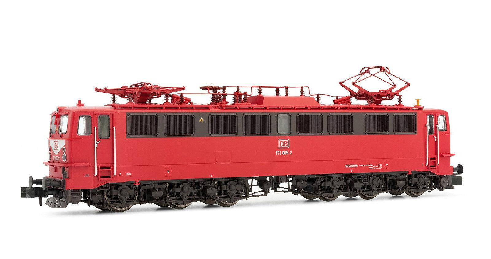 Arnold pista n  HN 2200 e-Lok, br 171 de la DB AG, 171 005-2, orientrosso-nuevo + embalaje original