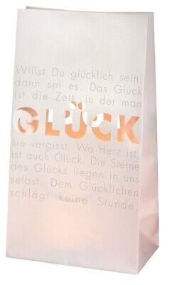 Logisch Räder 2er Set Papier LichttÜte Glück/ Tolle Dekoration/ Hingucker/ Kreativ/