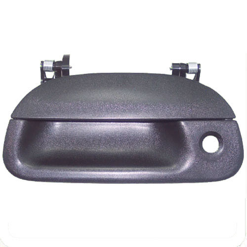 New Outside Tailgate Tail Gate Door Handle Black Textured
