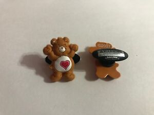 Tenderheart-Care-Bear-Figure-Shoe-Doodle-For-Rubber-Shoes-Crocs-Charm-CBR7009