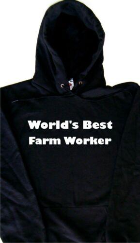 World/'s best travailleur agricole à Capuche Sweat