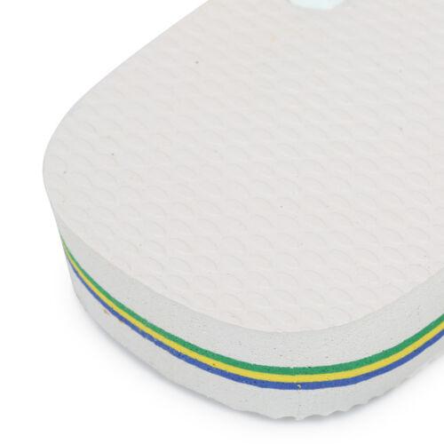 Havaianas Unisex Brasil Logo White FlipFlop Slim Fit SlipOn Casual Shoes 4110850
