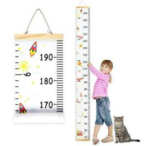 Children-039-s-Height-Growth-Chart-Measure-Wall-Hanging-Ruler-Decal-Kids-Baby-Room