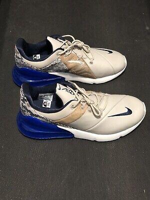 AT6153-400 Men/'s Size 10 Nike Air Max 270 Obsidian Hyper Royal Blue Sail