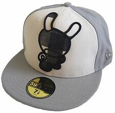 Kidrobot Vintage Dunny New Era 59FIFTY Fitted Cap Men's Hat Size 7 1/8 SOLD OUT