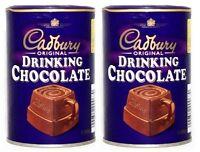 2 X Cadbury Drinking Chocolate 250g Shipped From Usa Free Shipping