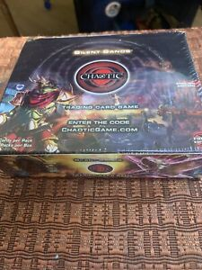 Chaotic Silent Sands 1st Edition Booster Box
