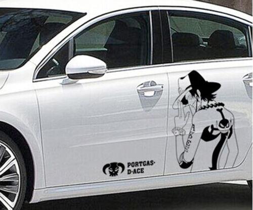 Pegatina de pared One Piece murales Ace auto tatuaje wall sticker Portgas