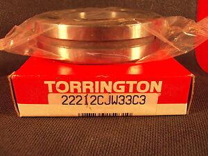Torrington 22212CJ W33 C3 , 22212 CJ, Spherical Roller Bearing (=2 SKF, FAG)