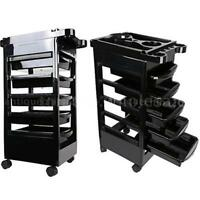 Rolling Salon Trolley Cart Beauty Spa Hairdressing Storage Station Tool D8z5 on sale