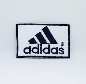 Adidas Sports badge White Iron Sew on Embroidered Patch