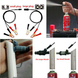 Details about High Quality DIY Car Autos Fuel Injector Flush Cleaner  Adapter Kit Washing Tool
