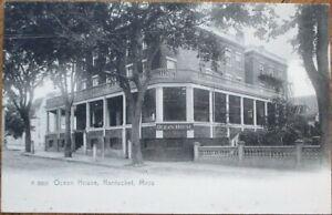 Nantucket-MA-1906-Rotograph-Postcard-Ocean-House-Massachusetts-Mass