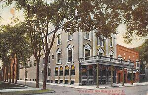 Fort-Wayne-Indiana-1910-Postcard-Elks-Temple-New-Home-BPOE-Masonic