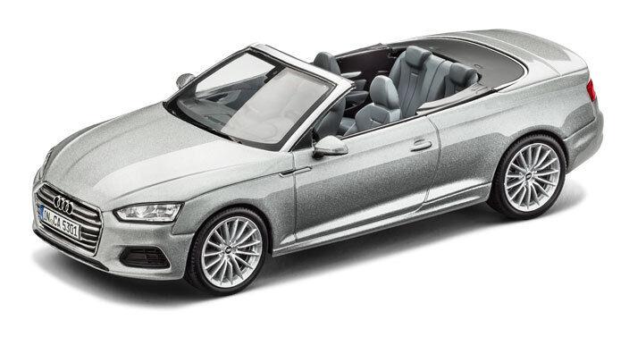 Audi A5 Cabriolet Cabrio modellolino Auto 1 43 modellolo 2017 Lamina argentooo