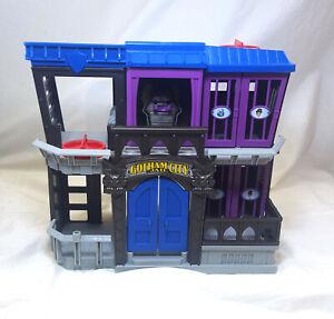 Fisher Price Imaginext Batman DC Super Friends Gotham City Jail Playset Arkham