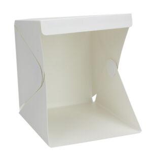 Photo Studio 24cm Photography Light Tent Backdrop Kit Cube Lighting Kit In A Box
