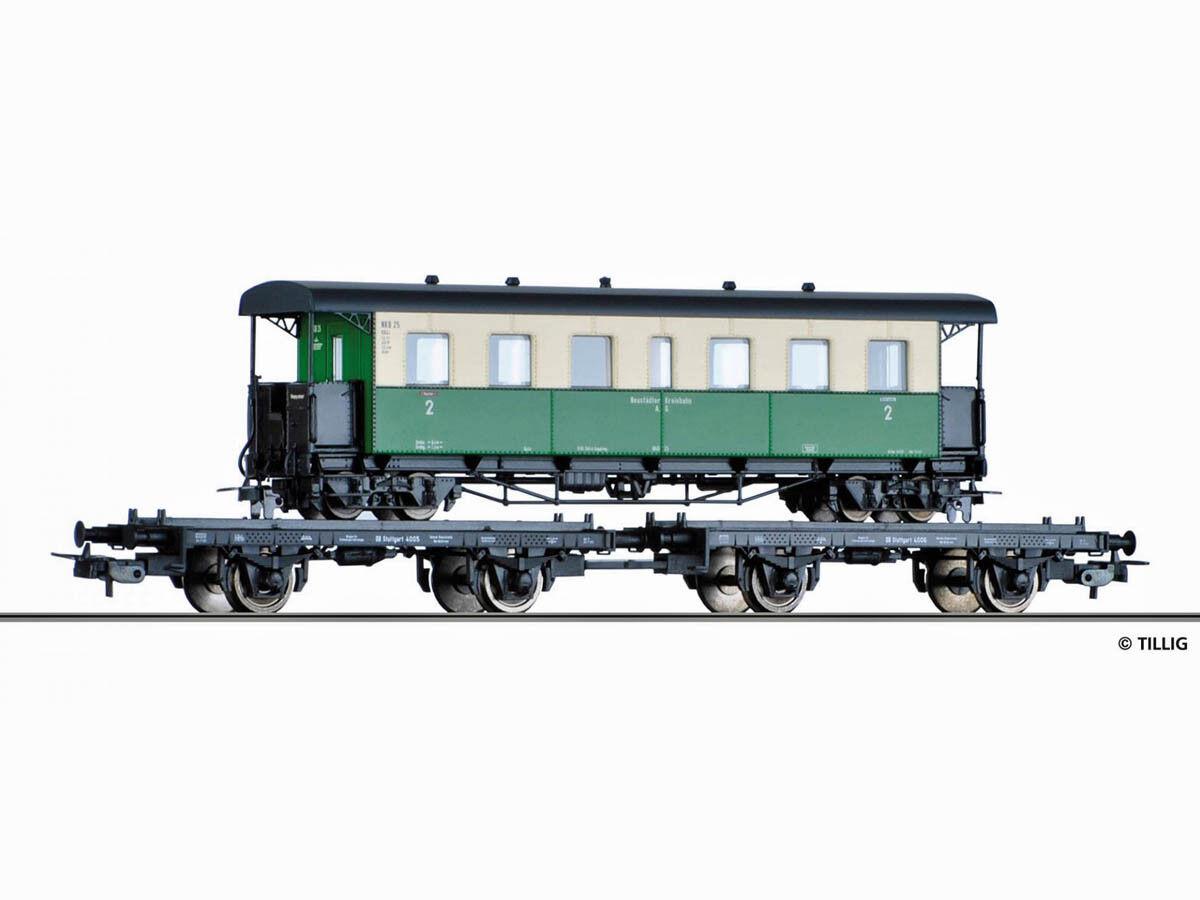 Tillig 70037 beni Wagenset carreggiata stretta trasporto DB h0