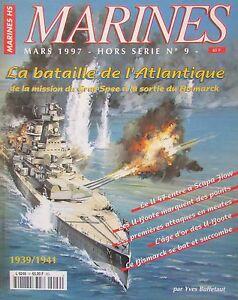 Magazine-Marines-1997-off-except-Series-No-9-the-Battle-of-Atlantic-Graf-Spee
