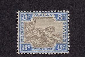 Malaya Scott # 22 b VF OG mint previously hinged cv $ 33 ! see pic !