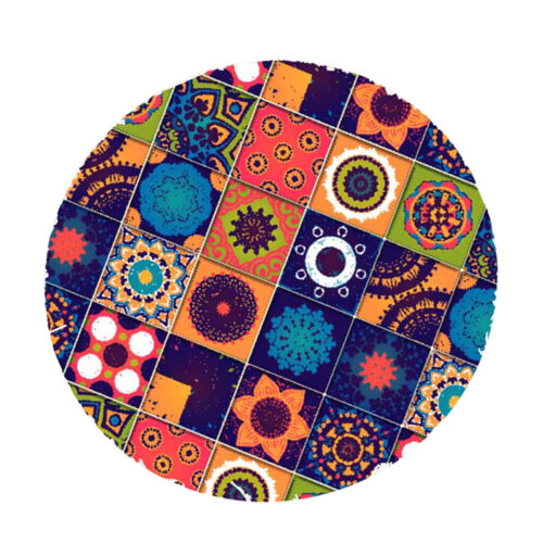 Polyester Round Tablecover Table Cloth Catering Events Elastic Band Fitted