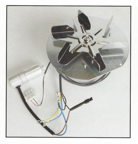 Austroflamm Rika soplador de combustión 10-1112 RI-B15534 102831 ROZ102831W