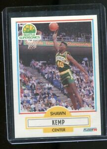 1990 Fleer Shawn Kemp ROOKIE RC #178 MINT. Seattle Supersonics Gradeable! WOW