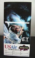 US Air Universal Studios E.T. Adventure Ticket Holder Artwork by Drew Struzan