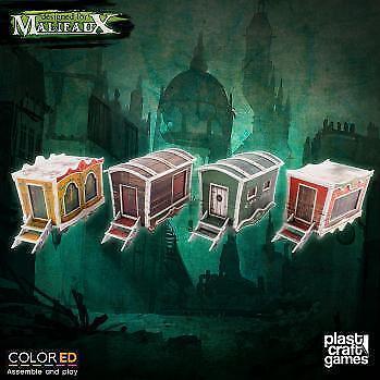 Malifaux Circus Wagon Set Plast Craft spel