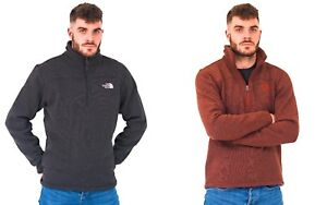 The-North-Face-Mens-Quarter-Zip-Fleece-Pullover-Jumper-Top-TNF