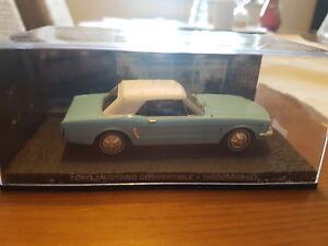 007 James Bond Modellauto Collection 1:43 Ford Mustang Convertible Thunderball - Deutschland - 007 James Bond Modellauto Collection 1:43 Ford Mustang Convertible Thunderball - Deutschland