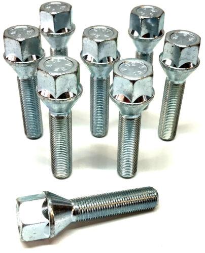 8 X M12 X 1.25 45 mm Long Filetage 19 mm Hex Roue Alliage Boulons Pour Citroen