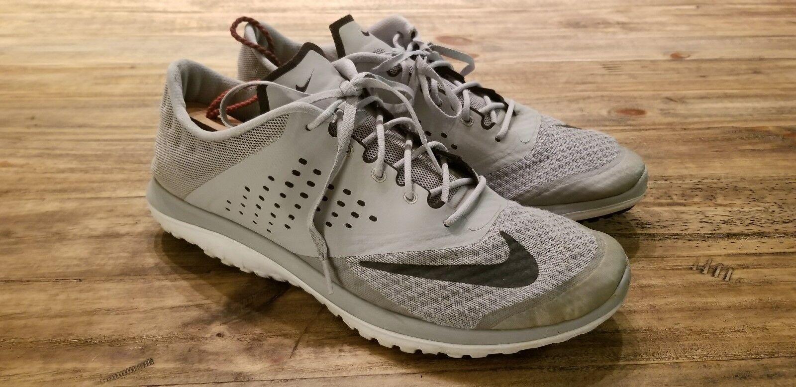 Nike mens fs lite run 2 45 di scarpe da da da corsa 685266 011, grigio e bianco camminare | Design professionale  4b5199